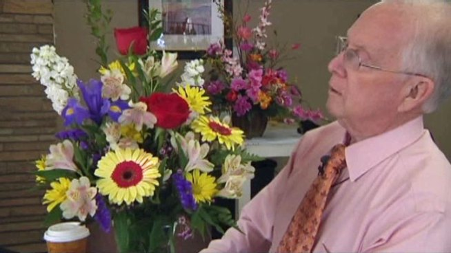 Joe Alford, a retired florist from Denton, will be in London to join the crowds to catch a glimpse of the royal couple outside Westminster Abbey.