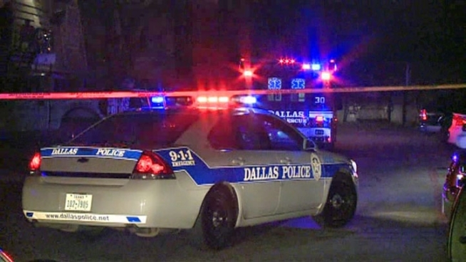 Dallas police say a gunman upset that his vehicle had been hauled away fatally shot a tow truck worker before the truck's driver returned fire and killed the assailant.