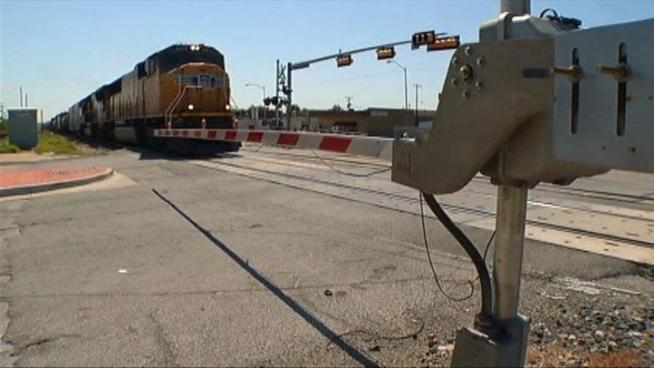 Police issued dozens of citations for railroad crossing violations during an enforcement period.