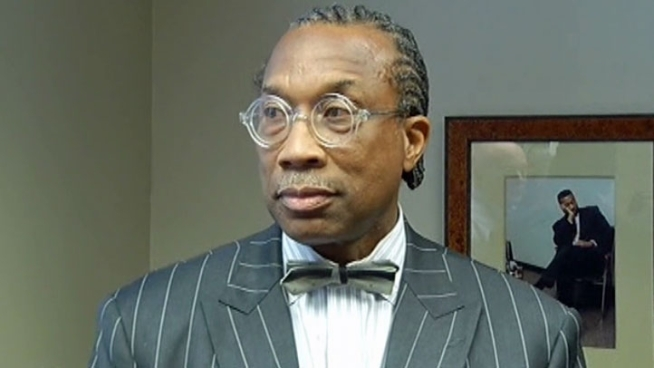 John Wiley Price addresses reporters and says he has no idea why the FBI has raided his offices and homes.