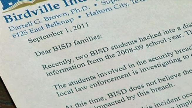 Two BISD students recently hacked into a district server and accessed a file containing sensitive personal student information from the 2008-09 school year.