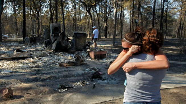Dramatic Photos: 2011 Possum Kingdom Fires