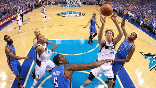 Thunder Sweeps Out The Mavericks