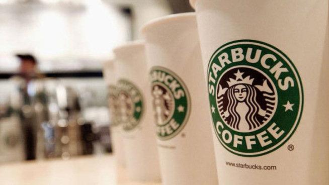 Starbucks cups in the D.C. area may carry a handwritten message about the fiscal cliff.
