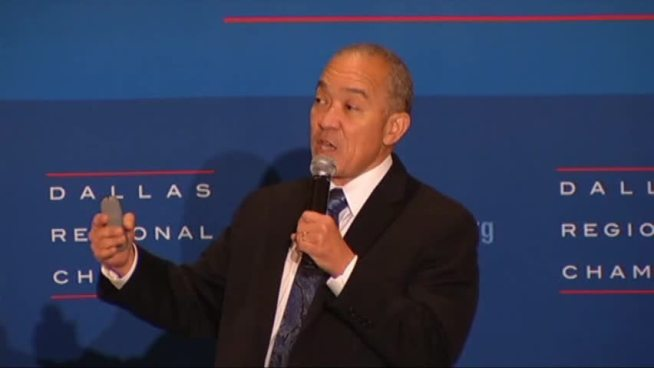 Dallas Independent School District Superintendent Mike Mills outlined the