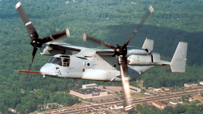 Navy Adds to Bell-Boeing V-22 Contract