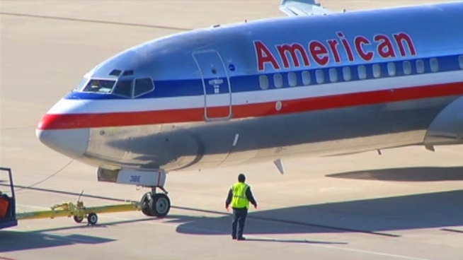 American Airlines' parent company, AMR Corp., filed for bankruptcy protection on Tuesday. The company says it was forced to file because of high labor and fuel costs and the weak economy.