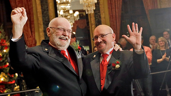 The Illinois General Assembly considering marriage equality legislation. Michelle Relerford reports.