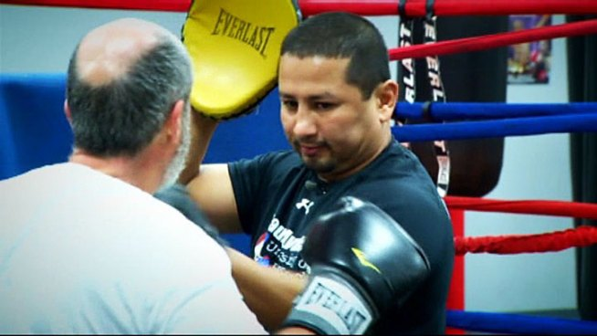 Fort Worth native and boxing legend now helping patients beat Parkinson's.