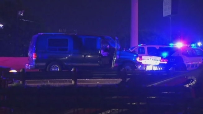 A man was fatally struck by oncoming traffic at Interstate 35E at Royal Lane after fleeing a vehicle during a police chase in Dallas on Tuesday night.