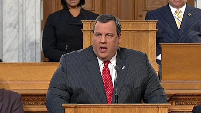 In his state of State, Gov. Chris Christie says Hurricane Sandy took a big toll on the state's economy and the government will play a big role in rebuilding. Brian Thompson reports.