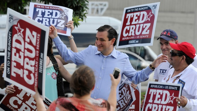 Texans Voted Cruz Despite Outside Support