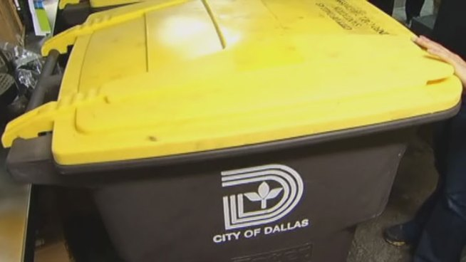 A new garbage collection program is in the works at Dallas City hall, but officials who have already bought almost $169,000 in equipment haven't told councilmembers about the purchase or the plan.