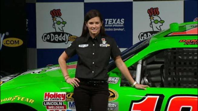 Danica Patrick says she's excited for her Sprint Cup debut in February.