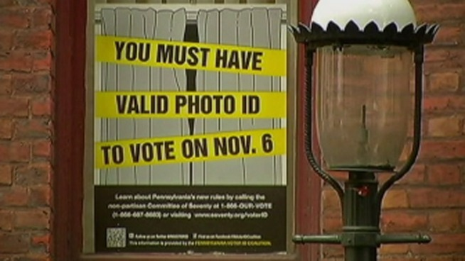 A lower court judge is expected to make a decision today on Pennsylvania's controversial voter ID law. NBC10's Tim Furlong explains the law and the effect the judge's decision could have on Election Day.