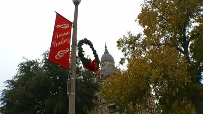 While Denton lights the city Christmas tree, businesses are battling it out for the title Best Wassail.