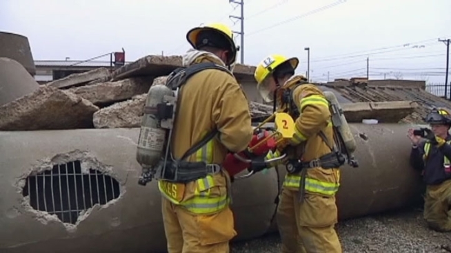 Rescuers are learning how to use new tools to help them speed up their efforts to save lives.