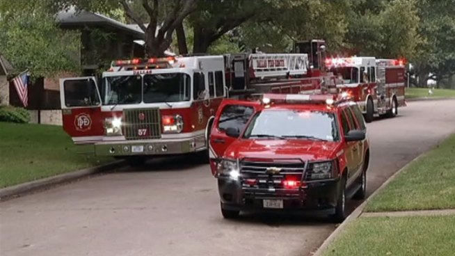 Emergency officials say three renovation workers have suffered significant burns in a fire at a home in the 6800 block of Hyde Park Drive in Northeast Dallas.