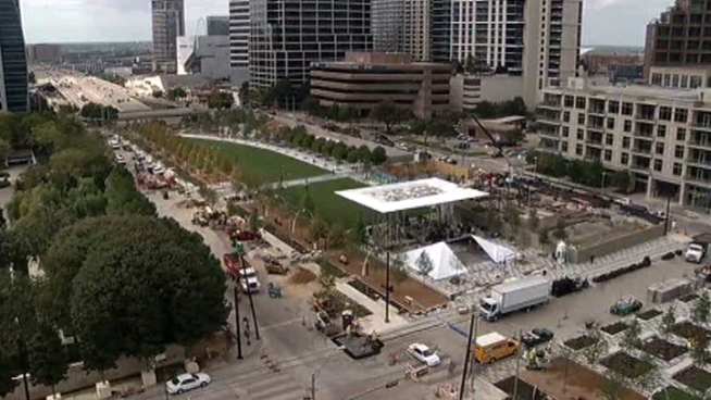 It's been a long time coming, but Dallas' Klyde Warren Park will open this weekend in downtown.