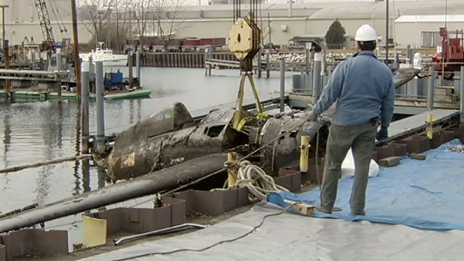 The Naval Aviation Museum Foundation sponsored the recovery of the plane, which coincided with the 71st anniversary of the Pearl Harbor attack. Nesita Kwan reports.