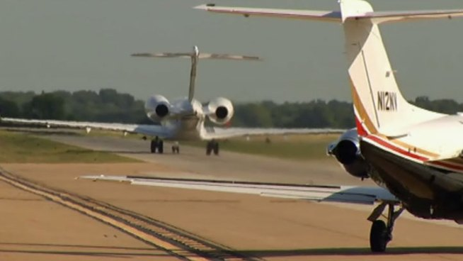 The Collin County Regional Airport's new runway could pave the way for future, allowing flights out of McKinney instead of Dallas/Fort Worth International Airport of Dallas Love Field.