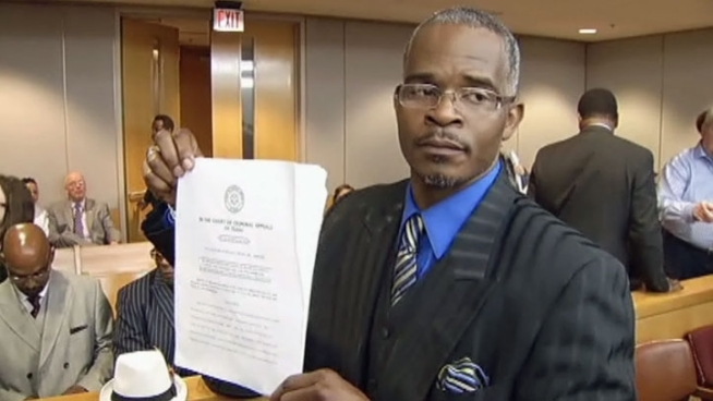 A judge has officially lifted the conviction of a Dallas man who spent 14 years in prison for murder and attempted murder. Richard Miles was freed in 2009 after an advocacy group found evidence implicating another man in the crime.