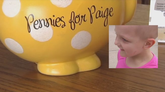 Paige Boutilier is the inspiration for Pennies for Paige, a non-profit group in Flower Mound that is helping families financially and emotionally.
