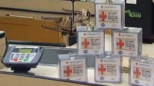 NBC 5 and Kroger are teaming up to take donations for the American Red Cross' Hurricane Sandy relief efforts.