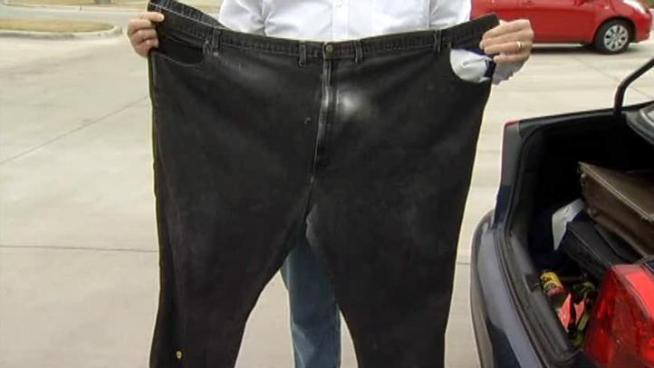 A Dallas man who lost 300 pounds has kept the weight off for a decade.