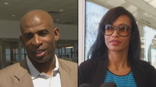 Deion and Pilar Sanders' Monday Court Appearance