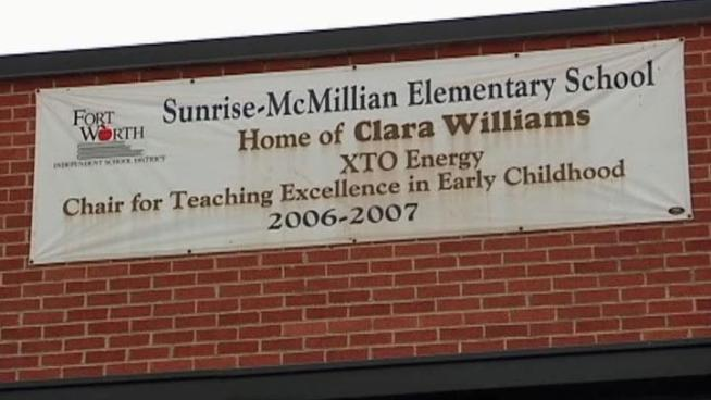Sunrise McMillan Elementary in the Fort Worth Independent School District is working to correct a spelling mistake that's getting a lot of attention, McMillan was spelled McMillian with an extra