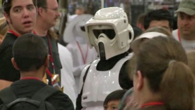 The Sci-Fi Expo is expected to bring thousands to the Irving Convention Center over the weekend.