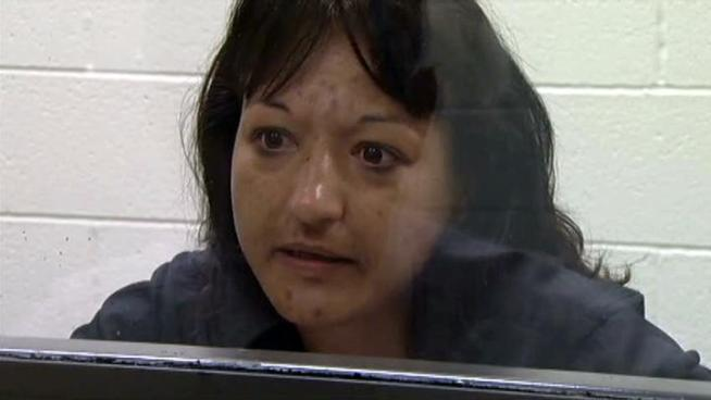 A Denton woman who faces up to year in jail and a $4,000 fine if convicted denies stealing coupons from Sunday papers.