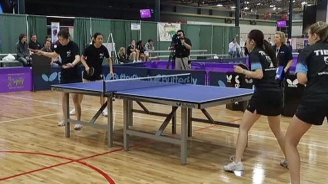 250 table tennis players from the United States and Canada are in Plano to show off their skills in the sport that's sometimes misunderstood.
