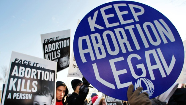40 Years After Roe v. Wade, Abortion Foes March On