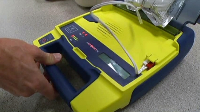 If you can use a Band-Aid, you can use an automatic external defibrillator.