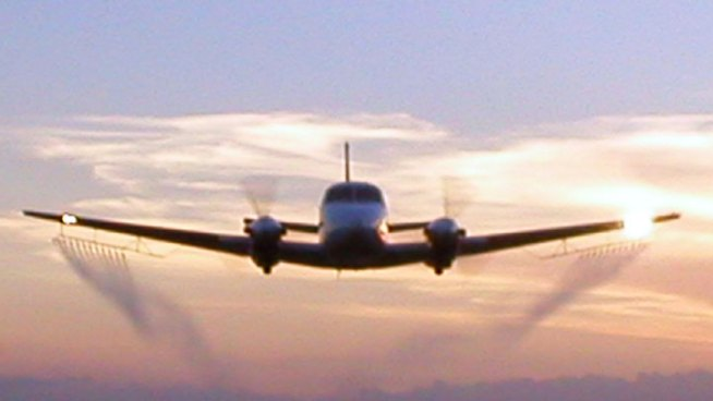 Aerial Spraying Could be Interrupted Tuesday