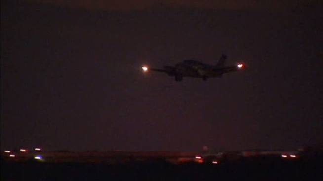 Planes completed the final night of aerial spraying in Dallas County.