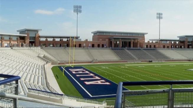 After spending $60 million on the new Allen Eagle Stadium, the city and school district is marketing the facility as a venue.