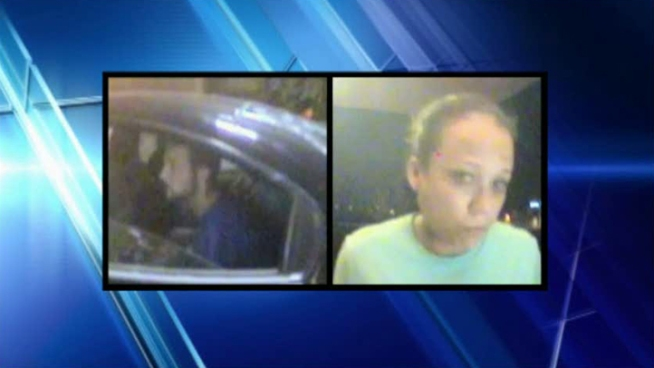 Dallas police have released surveillance photos of two of the four people who abducted a man from an ATM in Oak Lawn and forced him to withdraw money from ATMs in Dallas and Irving.