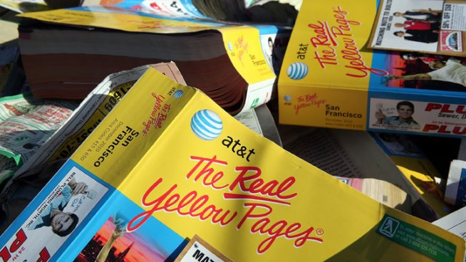 AT&T to Sell Yellow Pages for $950M
