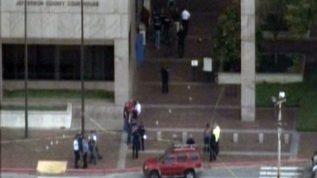 1 Dead in Texas Courthouse Shooting