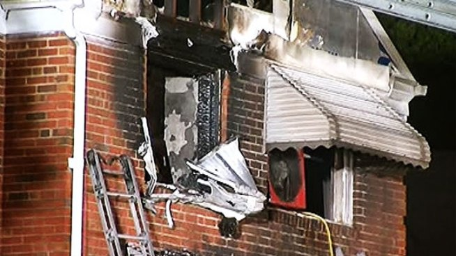 Fire investigators in Northeast Baltimore are searching for clues after an early morning fire left five people dead -- including four children under the age of seven.