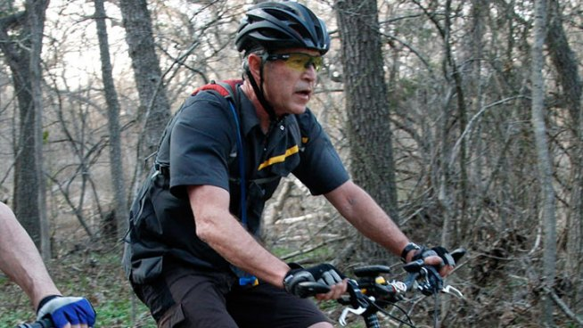 Bush to Ride With Wounded Vets