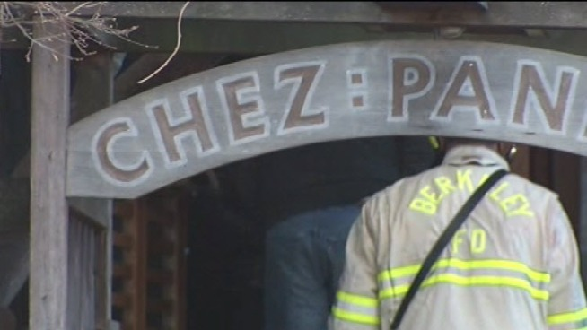 A Berkeley icon - Chez  Panisse -  caught on fire early Friday, shocking those who love the restaurant known for its fresh, organic and expensive meals. Christie Smith reports.