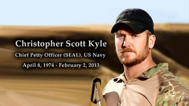 Chris Kyle's Children Offer Special Goodbye