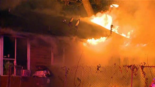 A Dallas family lost everything in an overnight house fire, including several dogs.