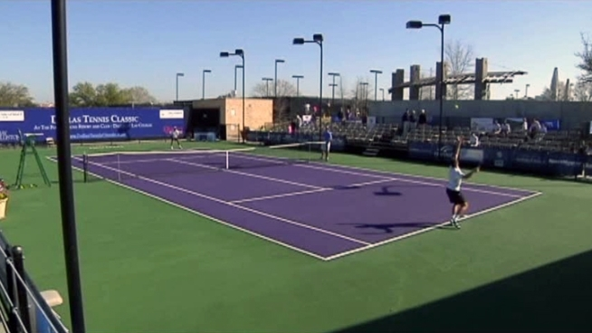 About 7,500 fans are expected throughout the week for the Dallas Tennis Classic.