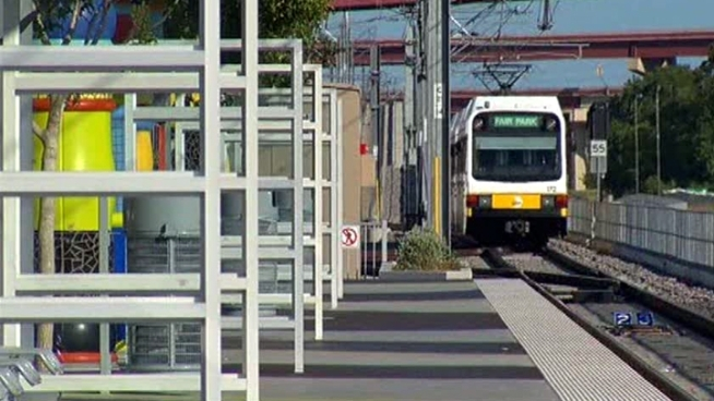 The DART proposal would charge commuters who do not live in the 13 cities it serves to park in lots at two of its train stations.