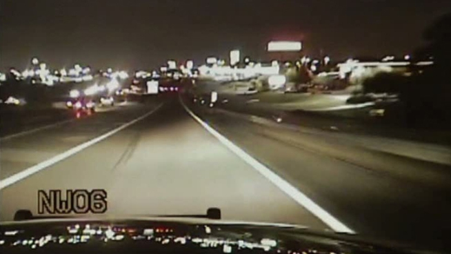 Dallas County deputies have released video of a hit-and-run on US 67 that was recorded by the dashboard camera of an officer on his way to help the victims, who had a flat tire.